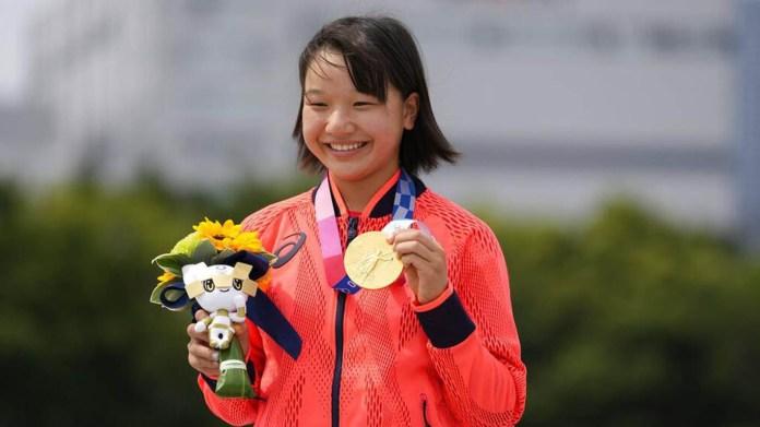 Baru Berusia 13 Tahun, Momiji Nishiya Raih Emas Olimpiade
