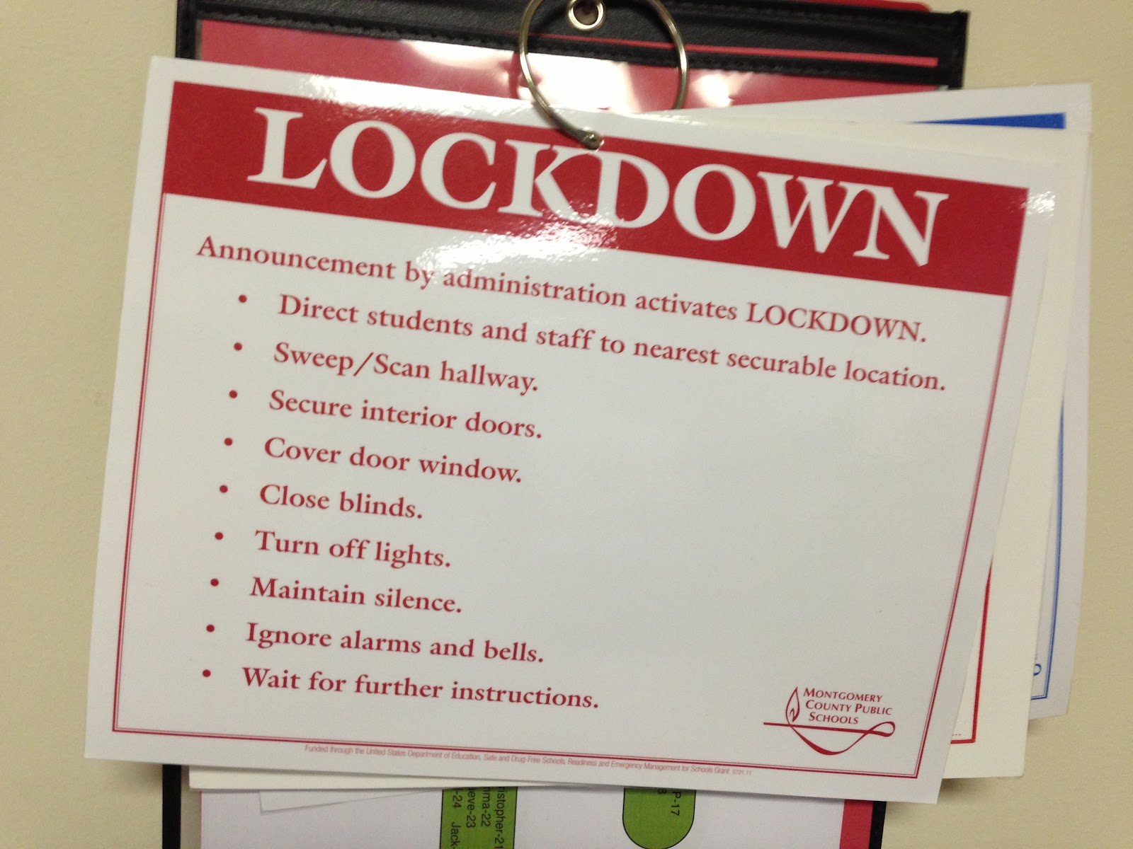 Caught In a Lockdown - NYS PTA