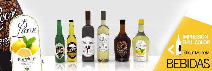 Etiquetas para Bebidas