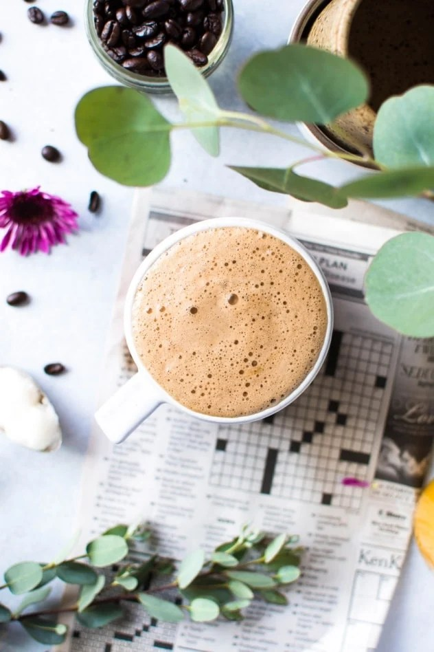 Creamy and delicious bulletproof coffee is a staple at our house in the mornings! Made with healthy fats and customizable with adaptogens and flavor combos that will bring a little more extra YUM to your morning cup of joe. Today I'm sharing how to make bulletproof coffee in 3 easy steps so you can start your day on the right foot!