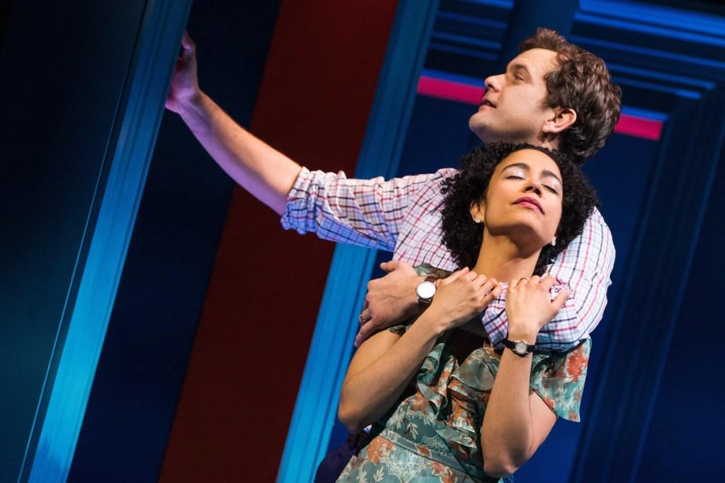 Lauren Ridloff and Joshua Jackson in Children of a Lesser God. Photo: Matthew Murphy