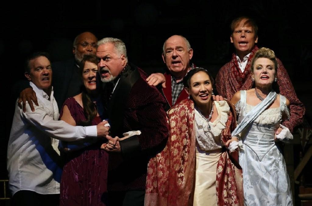 <I>The ensemble of Gingold Theatrical Group's Heartbreak House revival. Photo: Carol Rosegg</I>