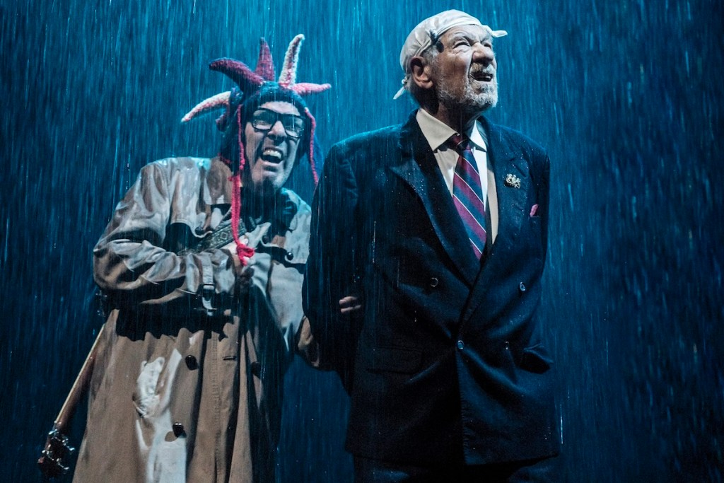 From London Mckellen S Lear And Christie S Witness Both
