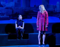 Karoline Xu, left, and Adelaide Clemens in Tom Stoppard's The Hard Problem. Photo: Paul Kolnick.