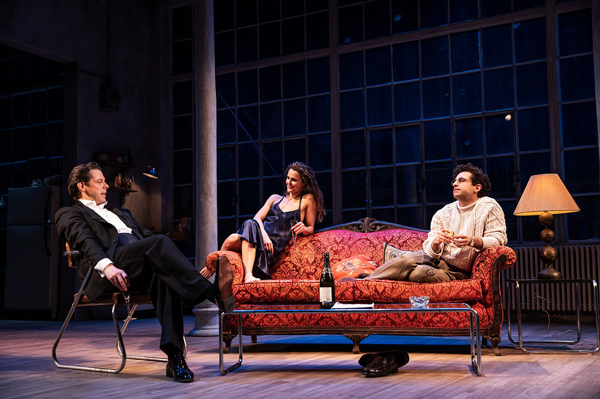 Burn This: Keri Russell and Adam Driver Lack Sizzle - New York Stage
