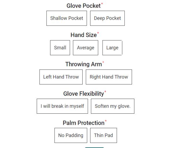 How to use Custom Glove Builder