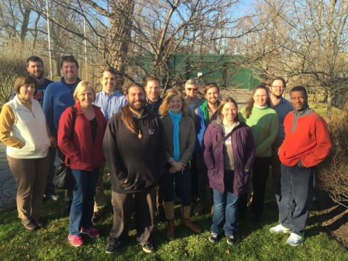 Inaugural group of WNY CommuniTREE Stewards in spring of 2016. Photo by John Choczynski