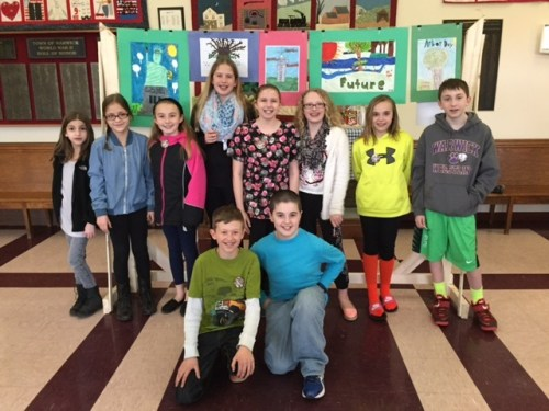 Arbor Day Poster contestants 2015