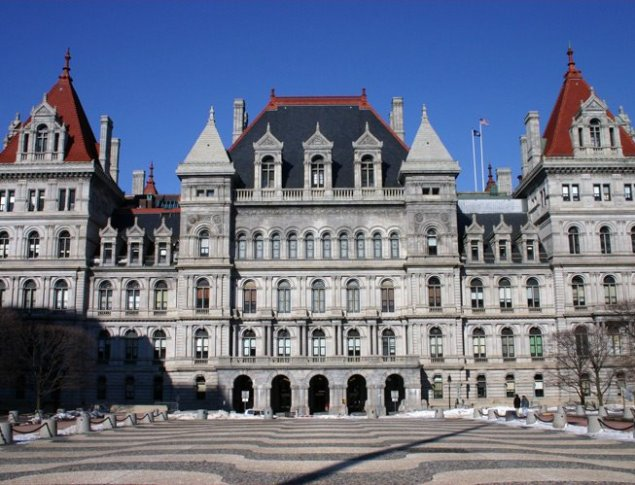 Photo of the New York State Capitol