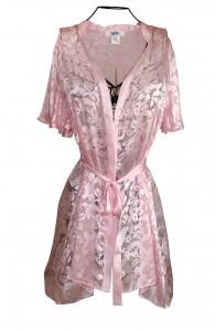 Pink Silk Robe Image