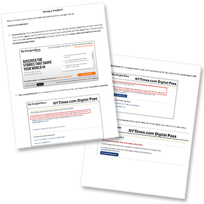 Academic Pass Resources « The New York Times in Education