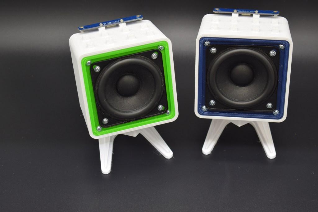 3D printed Smart Speaker case for the Raspberry Pi Zero