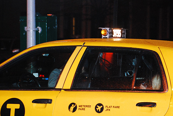 Women pay more for transportation for safety reasons, such as taking a cab instead of the subway, a recent study found. (Photo by William Martin)