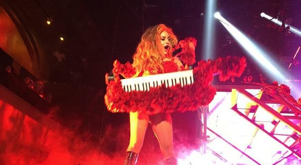 Lady Gaga performs intimate set at Roseland Ballroom
