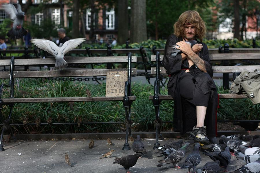Top 5 Quintessential people of Washington Square Park