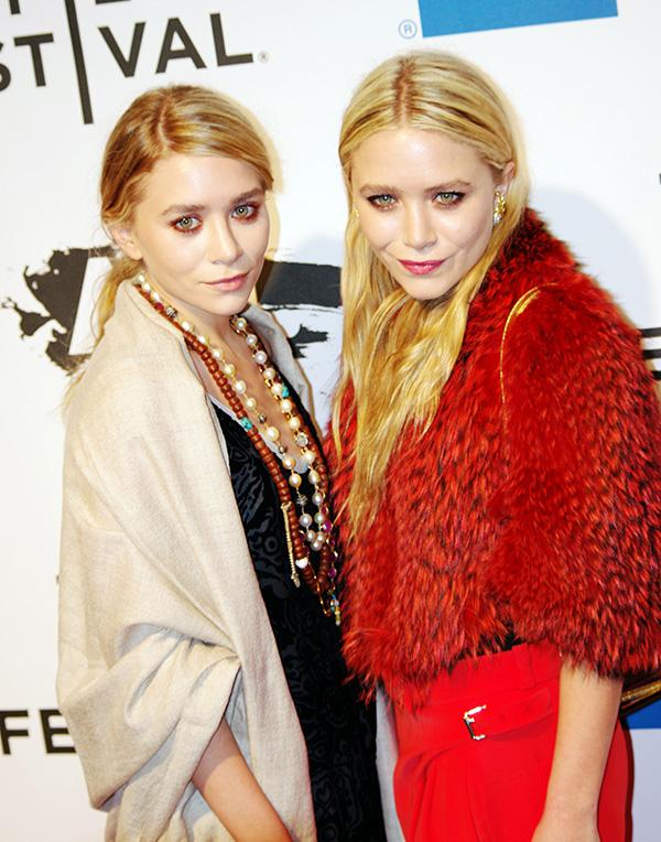 The Olsen Twins are symbols of high fashion and would make for a trendy couples look on Halloween.
