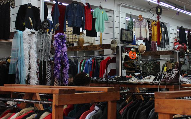 No Relation Vintage is just one thrift shop to visit for Halloween on a college budget.