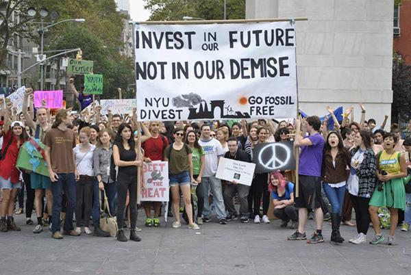 Courtesy of NYU Divest