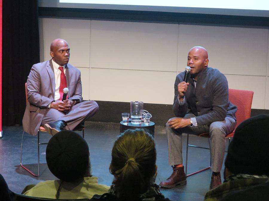 Historians+Peniel+Joseph+and+Yohuru+Willaims+discuss+Black+Power%2C+its+relationship+with+American+institutions+and+its+continuing+application+today+in+the+light+of+the+Ferguson+movement.%0D%0A