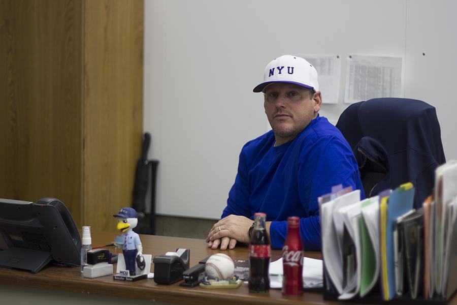 Doug Kimbler will coach NYU's new varsity baseball program.