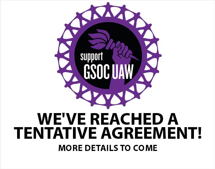 GSOC negotiates tentative contract with NYU administration