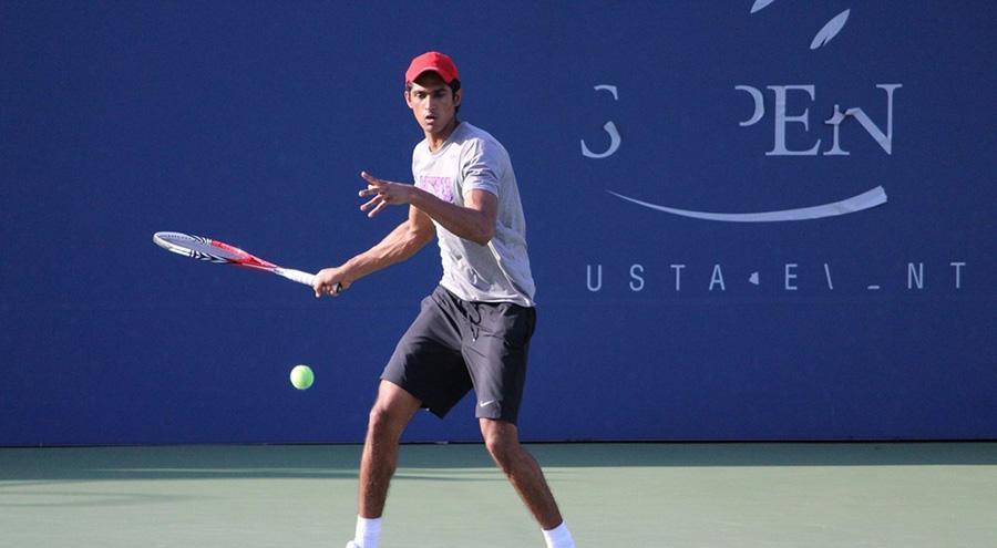 Thangirala won his #1 singles match.