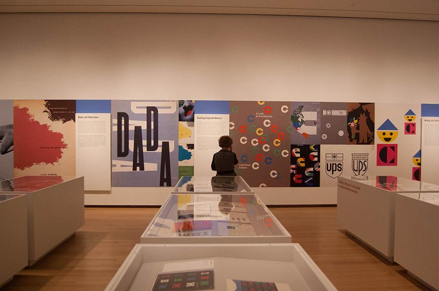 """The work of Paul Rand in """"Everything is design."""""""