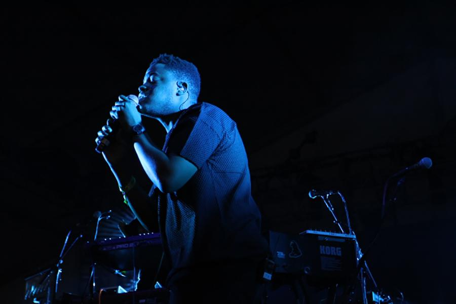 Future Lights under the Gotham tent, Governors Ball 2015