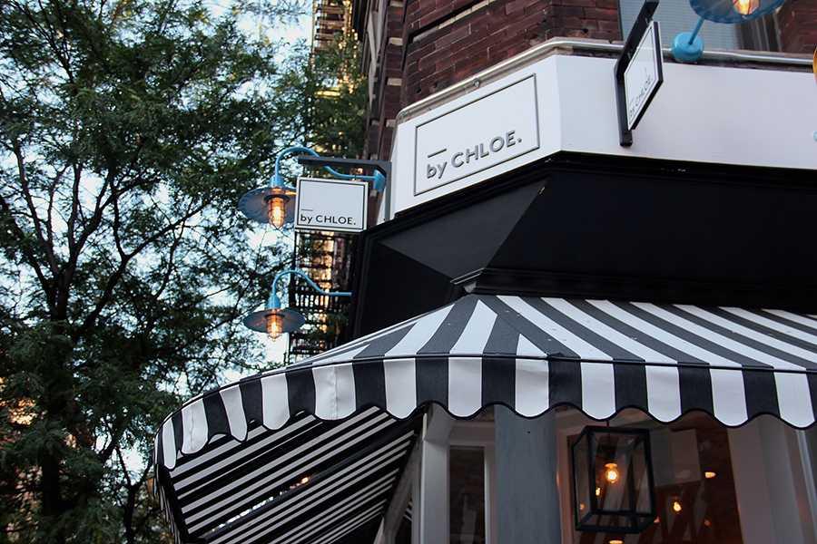Newly opened Vegan Restaurant on Bleecker Street.
