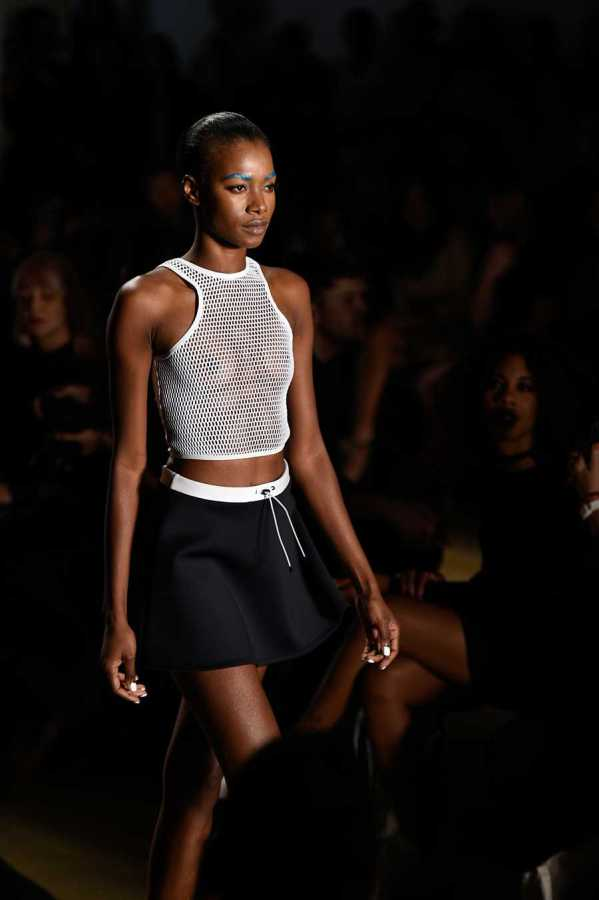 Chromat revealed their new line of sportswear at New York Fashion Week.