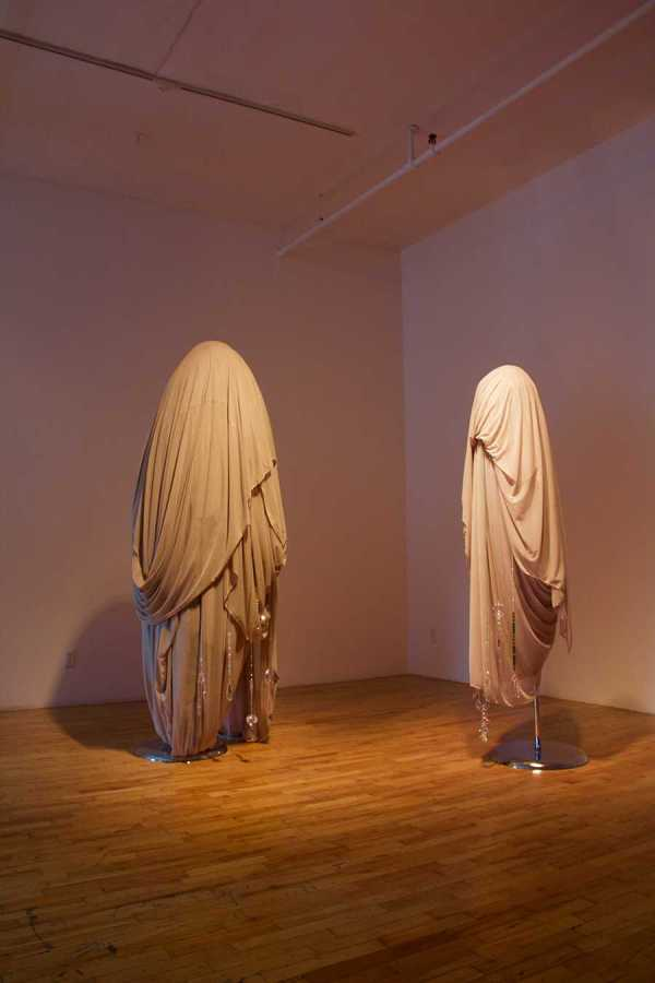 Wu Tsang features sculpture as part of her exhibition at the Clifton Benevento gallery.