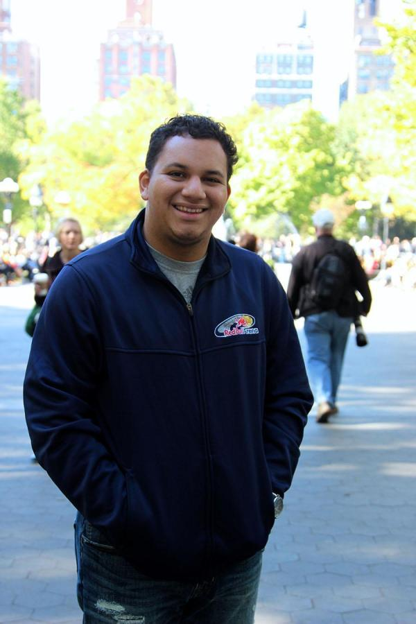 Sophomore Christian Alfaro handles all his school work and extracurriculars while also working on the Events Operation Staff for the New York Red Bulls.