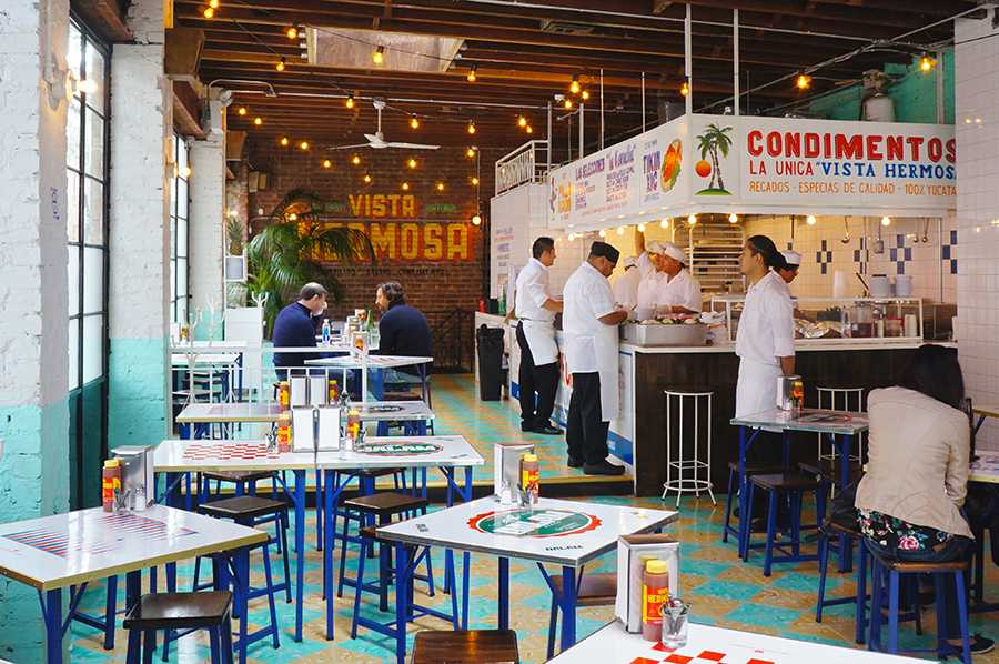 Tacombi Tacos Mexican restaurant just opened its newest location on 52 Gansevoort Street, in the Meatpacking district.