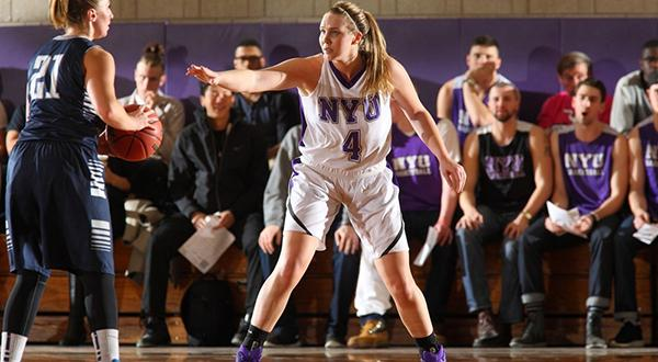Senior co-captain Megan Dawe has received preseason All-American accolades, and the NYU women's basketball team is ranked #5 in the nation in a preseason poll by Women's DIII News.