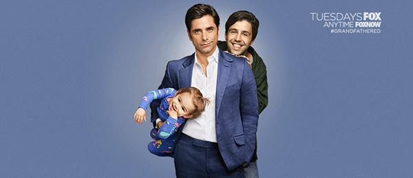 """John Stamos from """"Full House"""" and Josh Peck from """"Drake and Josh"""" star in the new Fox TV show, """"Grandfathered."""""""