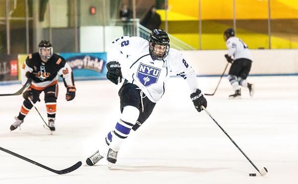 File photo from Sunday, February 1st, 2015.    NYU loses to University of Massachusetts-Amherst over the the weekend, breaking the four-game win streak.