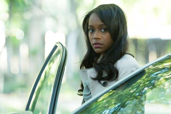 """Aja Naomi King stars in  Jose Nestor Marquez's new film """" Reversions"""", a Si-Fi thriller released on October 9th, 2015."""