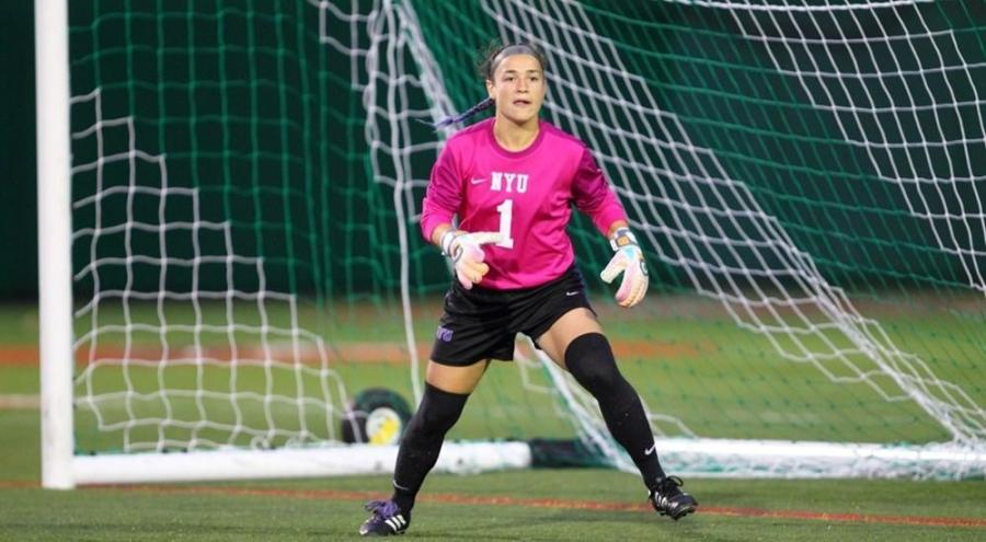 Steinberg recorded another shutout for the Violets.
