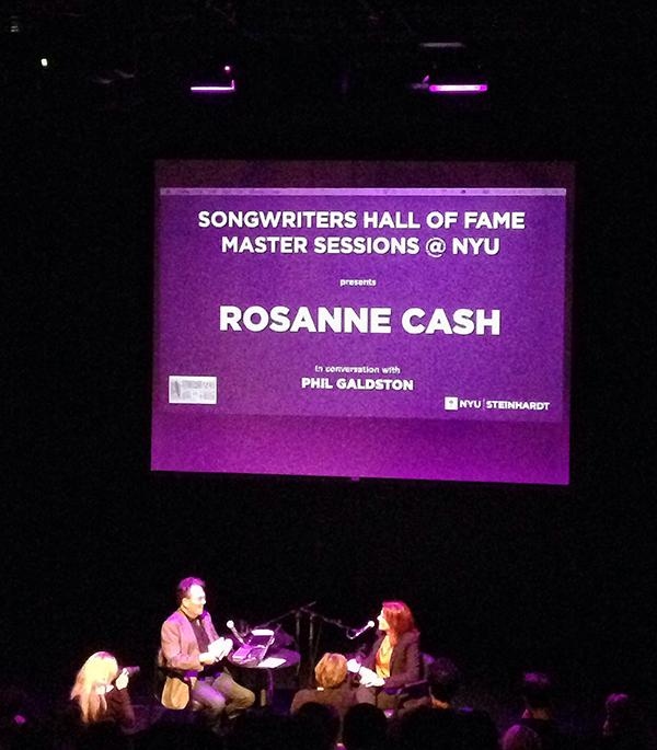 NYU Steinhardt's Songwriters Hall of Fame Master Sessions bring music icons to engage in a conversation about their careers and how to get started.