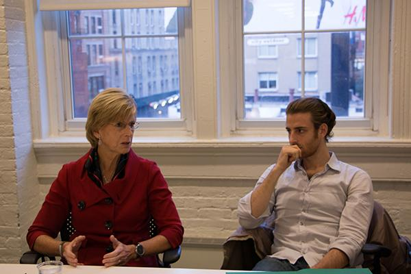 On November 9, 2015 Former NJ Governor Christine Todd spoke with NYU students about nuclear power as a clean energy source for the United States.