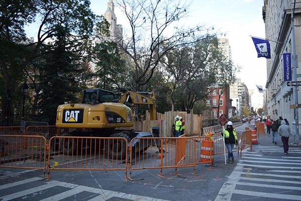 An NYU class found that the New York Department of Design and Construction should have known that there were bodies buried at the site of construction.