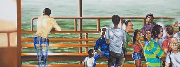 Influenced by street art, New York native Chris Ellis presents New York City through the eyes of a native.