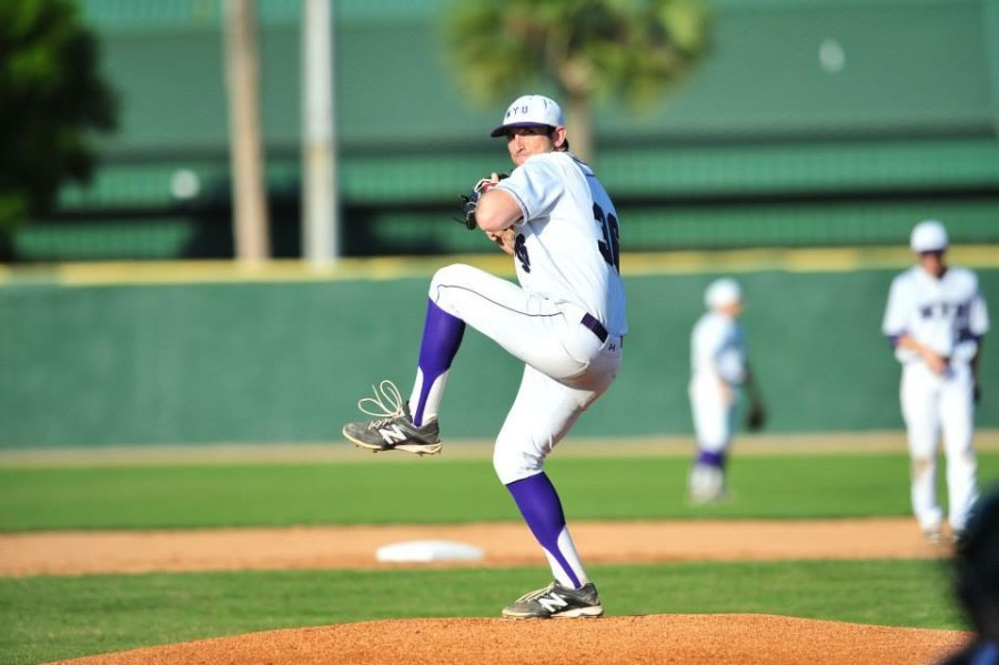 NYU baseball pitcher, Marshall Kramsky, is back after a long recovery following a Tommy John surgical procedure.