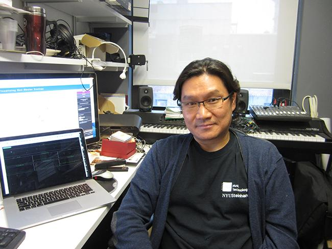 Professor Tae Hong Park is currently working on an application that maps the sounds of various cities.