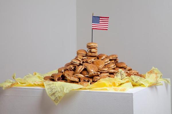 #makeamericagreatagain isn't our average American art exhibition.