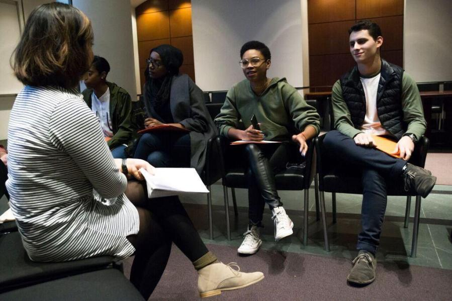 CAS hosted its third Upstander Dialogue, led by Dean Gabby Starr.