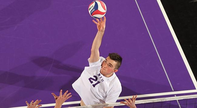 NYU Men's volleyball obtained a much needed win against Vassar today.