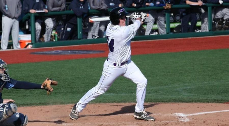 Colman Hendershot was a standout performer for NYU's Men's Baseball team despite their loss.