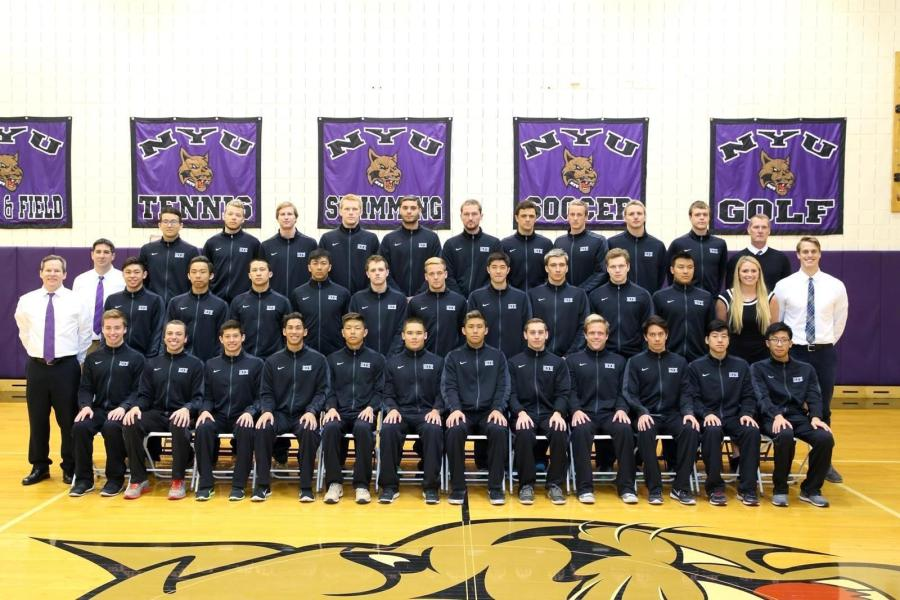 NYU's Men's Swimming team finished their season in 9th place.