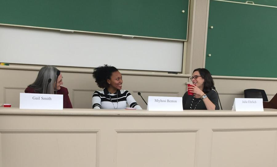NYU Law held a panel to talk about the mistreatment incarcerated women being pregnant in jail.